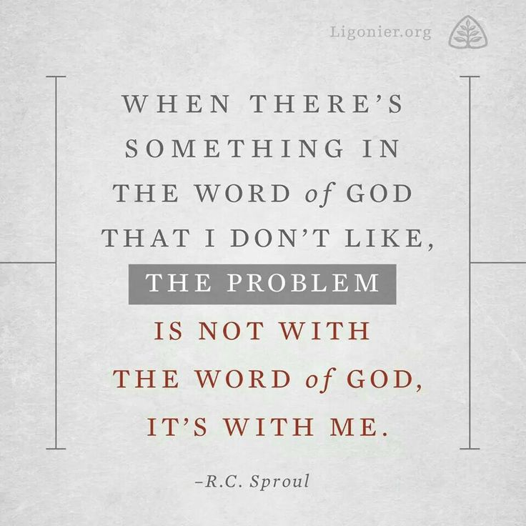The Problem is with Me - RC Sproul